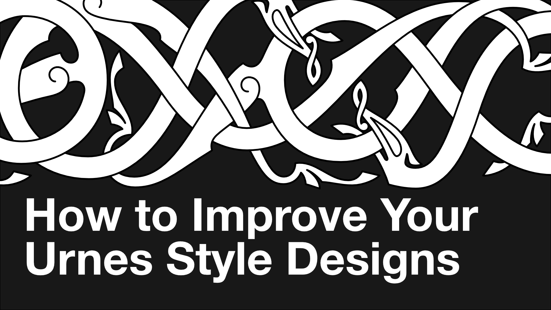 How to Improve Your Urnes Style Designs