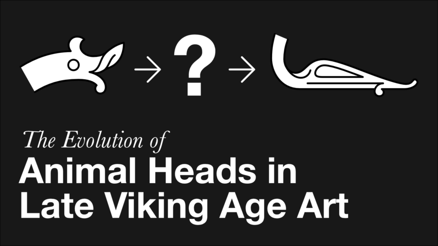 The Evolution of Animal Heads in Late Viking Age Art